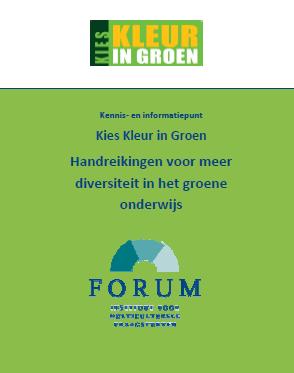 Handreikingen voor meer diversiteit in het groene onderwijs