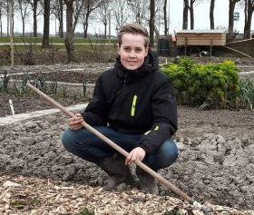Groenhorstleerling Rens heeft tuindersgen