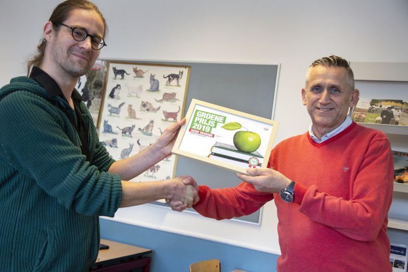 Docent Henk Veurink wint Groene Prijs 2019 van GroenLinks
