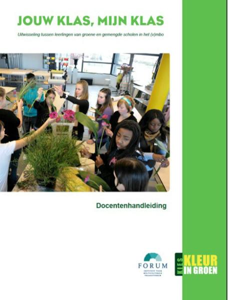 DOCENTENHANDLEIDING - Jouw klas, mijn klas