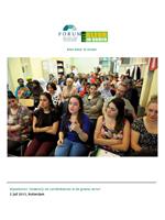 Migrantenjongeren en ouders lopen warm voor groene opleiding