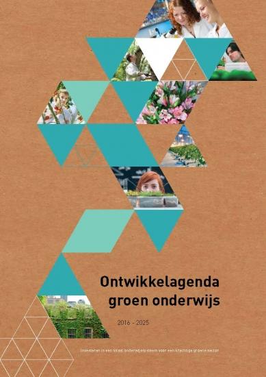 Ontwikkelagenda groen onderwijs 2016-2025