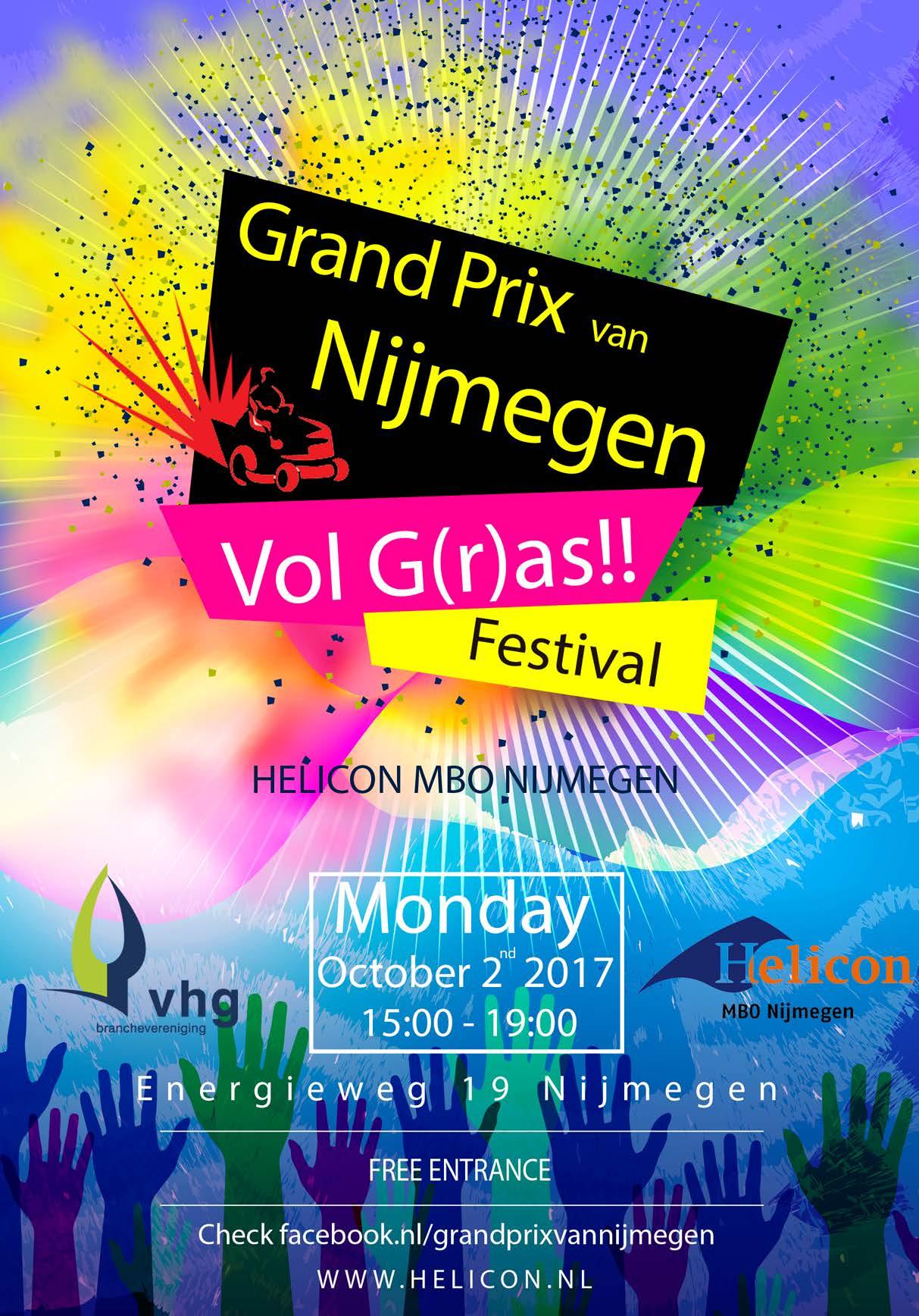 Helicon organiseert Grand Prix van Nijmegen: VOL (G)RAS